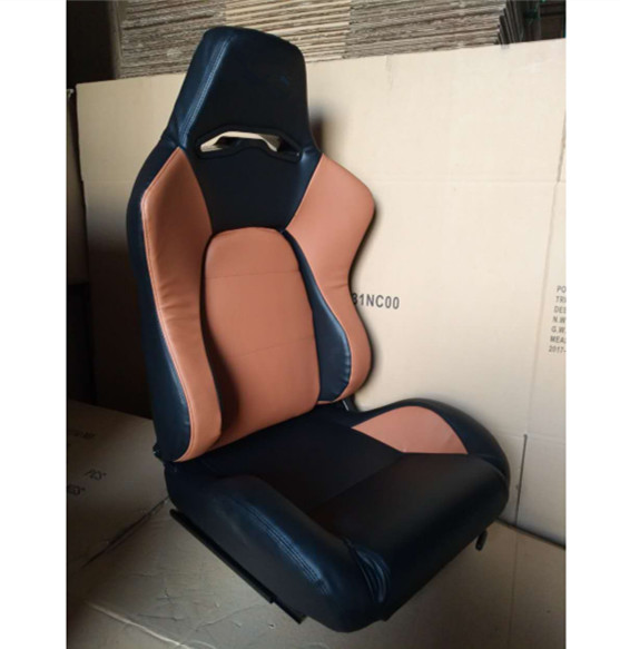 JBR1056 PVC Sport Racing Seats With Adjuster / Slider Car Seats
